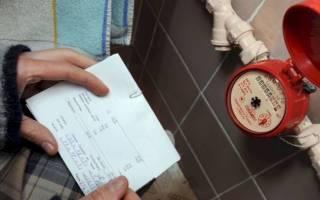 Как проверить правильность расчета показателей потребления воды?