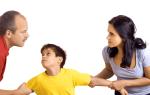 Правомерно жена запрещает приходить домой к ребенку?
