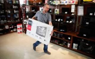 Защита прав потребителей обмен телевизора