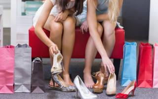 Возврат обуви в течение гарантийного срока