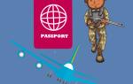Выезд за границу во время отпуска для военнослужащего