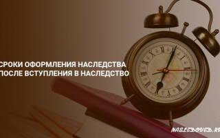 Влияет ли время на наследство