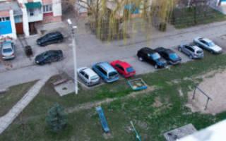 Штраф за то что шел рядом с припаркованными машинами