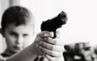 С какого возраста можно пользоваться пневматическим пистолетом?