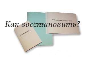 Что делать, если потеряны данные из домовой книги?